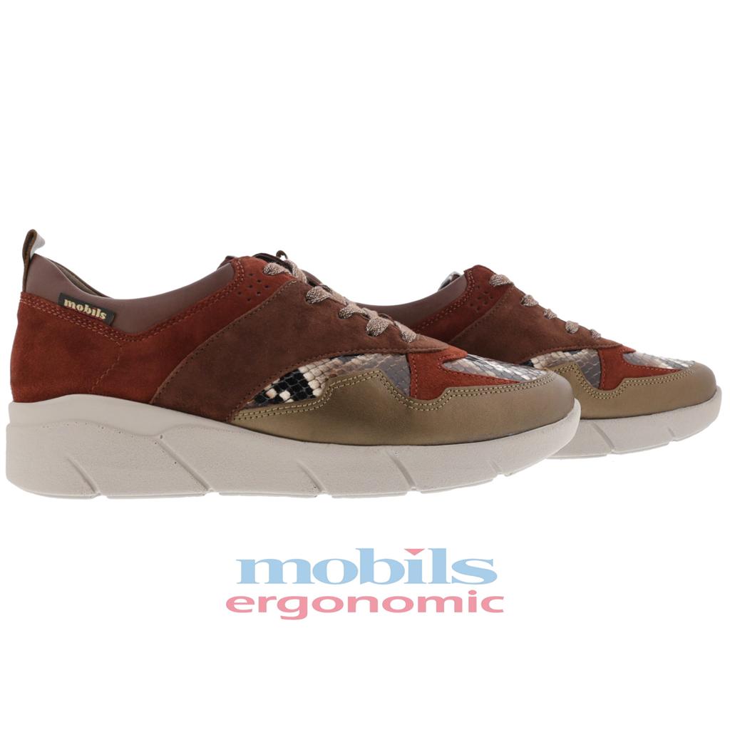 Ninia MEPHISTO | Chaussures sport ville à lacets pour femme