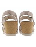 sandales de marche confort homme en cuir marron mephisto allrounder