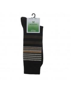 sandale large femme réglable laura cuir noir irisé