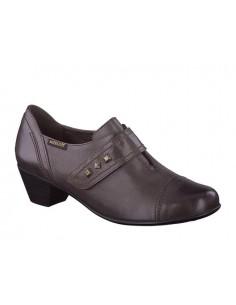 chaussures souples à lacets pour homme mephisto douk cuir marron
