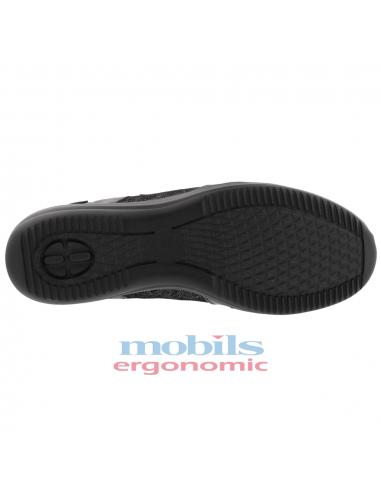 chaussettes de sports marche randonnée noires confortable mephisto