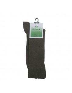 chaussures lacets compensées confortable mephisto pour femme en nubuck gris clair