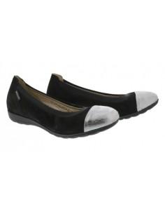 chaussure mephisto toscana femme confortable noire et argent