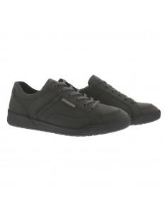 chaussures plateau à lacets femme confortables mephisto noires
