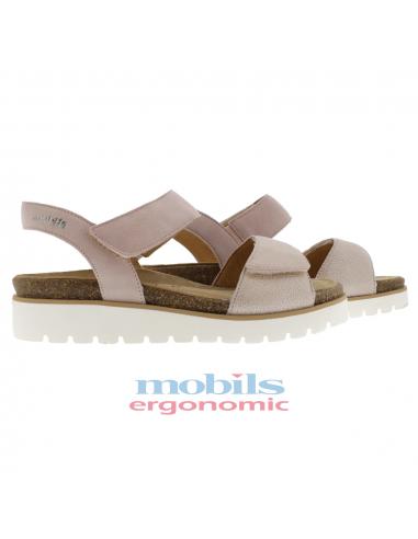 chaussures sport à lacets pour pieds larges mephisto gladice marron
