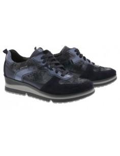 chaussures elastique mephisto femme miriam en nubuck noir