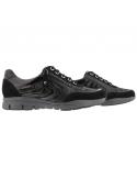 Chaussures à lacets mephisto confortables kristof cuir noir