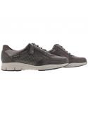 Chaussures à lacets mephisto confortables kristof cuir gris