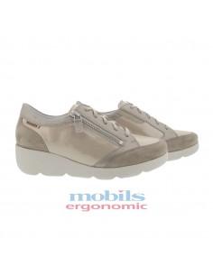 chaussures lacets sport souples en cuir marron frank mephisto homme