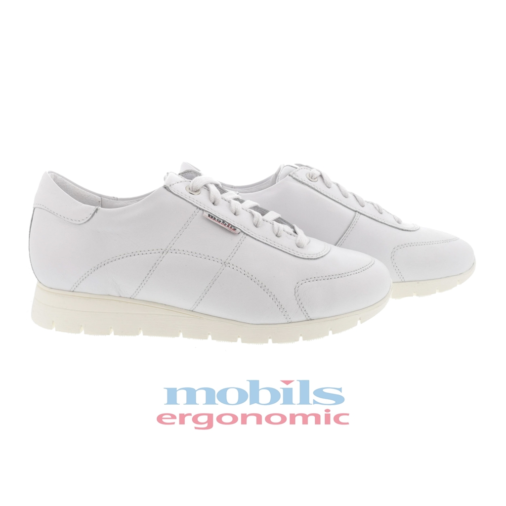 2c921c33df5 360  chaussures à lacets de marche ville en cuir argent mephisto rebeca  femme