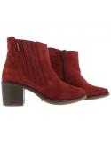 sandale mephisto confortable pour femme Paris en cuir brillant noir