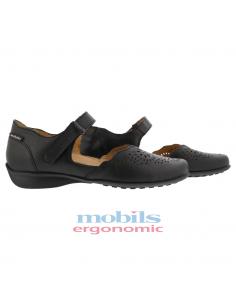 chaussures sport à lacets pour pieds larges mephisto gladice beige