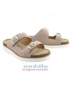 chaussures à lacets sport mephisto mick en nubuck kaki