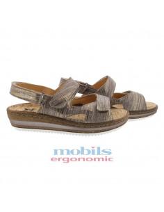 sandale de marche larisa femme mephisto gris
