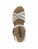 chaussures confortables pour pieds larges et sensibles en cuir boa bleu jessy mephisto