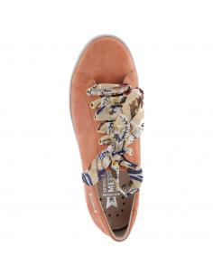 chaussure derby décontracté thibault mephisto homme nubuck bleu