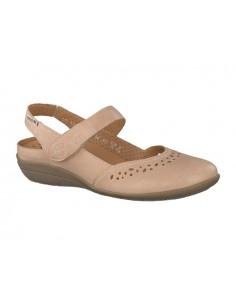 chaussure sport à lacets mephisto mobils dorothe en cuir nubuck bleu marine