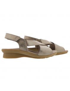 chaussure mephisto pour homme : boris perf en cuir gris ajouré