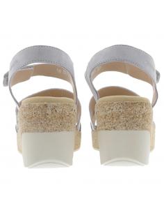 chaussures sport à lacets pour pieds larges mephisto gladice gris