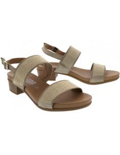 Chaussures lacets Hawai Mephisto pour femme en cuir noir brillant