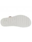 sandale mephisto confortable pour femme Paris en cuir nubuck taupe