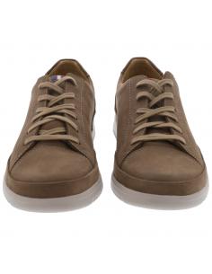 chaussures de marche ville et campagne - filippo en cuir noir pour homme Mephisto