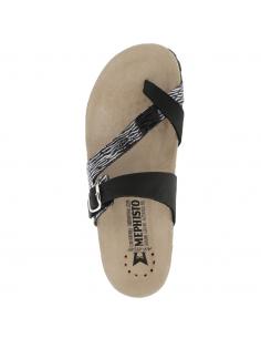 Chaussures de marche montante en cuir noir pour homme - Ranus-tex Allrounder MEPHISTO