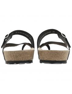Chaussures montantes en cuir rouge pour femme - Nigata tex allrounder mephisto