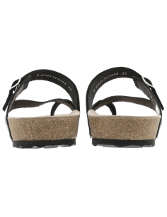 Chaussures de marche montantes en cuir rouge pour femme - Nigata tex Allrounder MEPHISTO