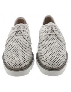 Chaussures de marche imperméables kaki taupe pour femme - Sahira-Tex MEPHISTO