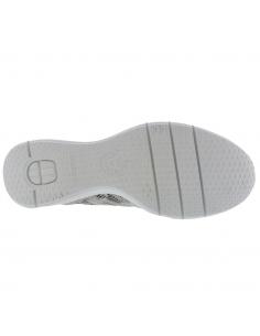 chaussures souples à lacets pour femme : Jorie by Mephisto en cuir brillant taupe