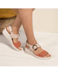 Chaussure en cuir souple pour femme - Bessy Mephisto blanc