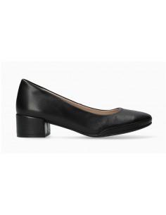 bottines en cuir noir confortables et larges et pour femme - Cathy MEPHISTO