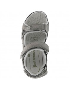 chaussures à lacets souple mephisto pour homme en cuir gris thomas